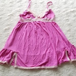GUC size small Victoria's Secret nighty pink sexy
